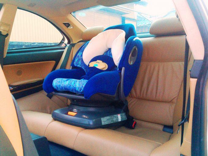 二点式シートベルトで使えるチャイルドシート