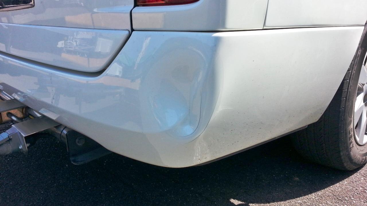 【費用節約】車のバンパーのへこみを自分で修理する方法