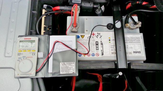 バッテリー寿命エンジン始動中の電圧