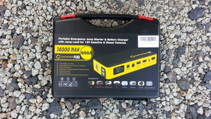 大型車のバッテリー上がりにも使えるジャンプスターター
