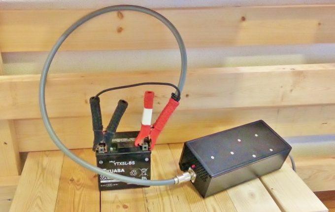 パルス充電機でバイクのバッテリーを再生する