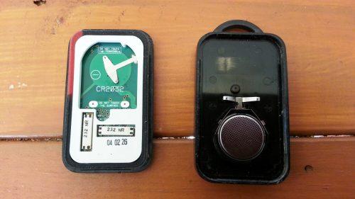 スマートキーの電池を交換する方法