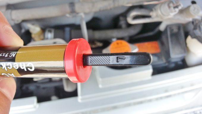 停車時の平衝圧力測定結果