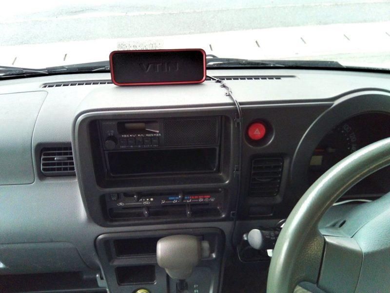 車内でスマホ音楽が聞けるブルートゥーススピーカー