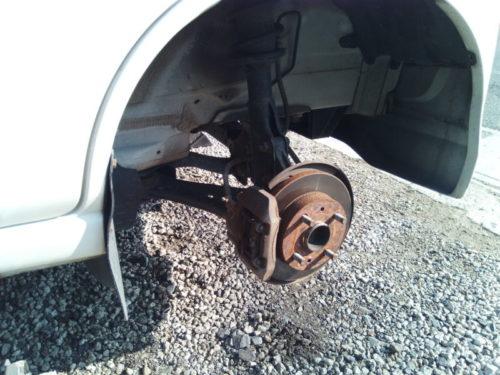 ハイゼットフロントハブベアリング異音修理の方法