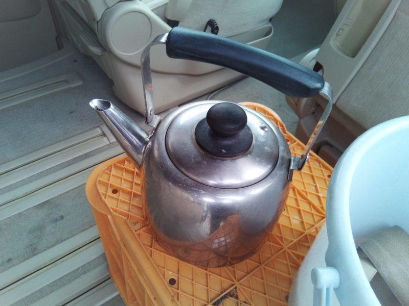 過炭酸ナトリウムの洗浄効果を高めるお湯