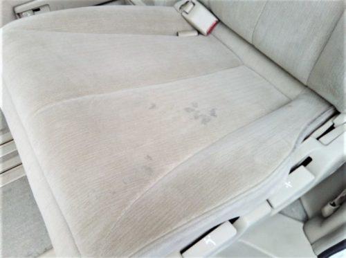 シートのシミ汚れ