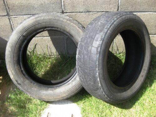 タイヤ交換で要らなくなったタイヤ