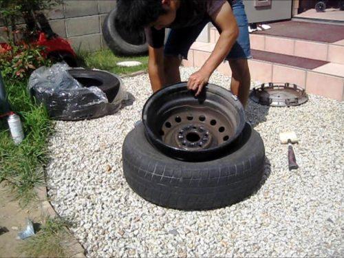 【タイヤ交換】自分でタイヤを組み換える方法を徹底解説
