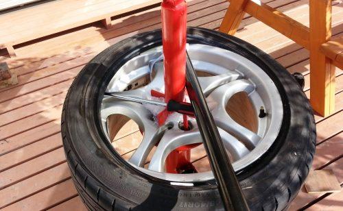【簡単組換】手動タイヤチェンジャーの具体的な使い方
