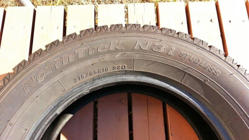 オートバックスの格安スタッドレスタイヤの性能と耐久性を追跡調査(North Trek N3i)